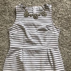 Old Navy sleeveless ponte sheath dress